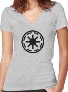 Galactic Republic Women's Fitted V-Neck T-Shirt