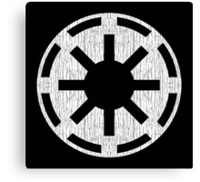 Galactic Republic (white, distressed) Canvas Print