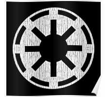 Galactic Republic (white, distressed) Poster