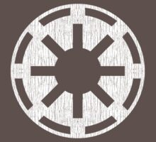 Galactic Republic (white, distressed) Kids Clothes