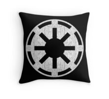 Galactic Republic (white, distressed) Throw Pillow