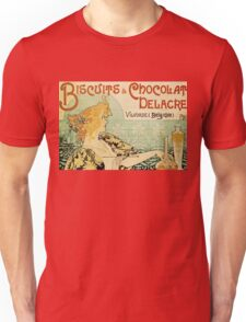 Vintage poster - Biscuits and Chocolat Delacre Unisex T-Shirt