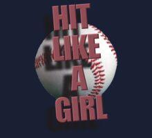 Hit Like A Girl Baby Tee