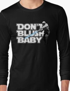don't blush baby - chris gayle jedi Long Sleeve T-Shirt