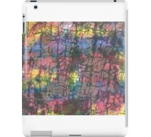 Multi colored crackle iPad Case/Skin