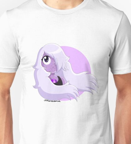 Amethyst as I see her by Mariana Abreu Unisex T-Shirt