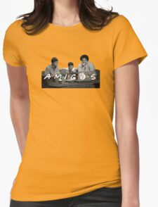 Amigos Womens Fitted T-Shirt