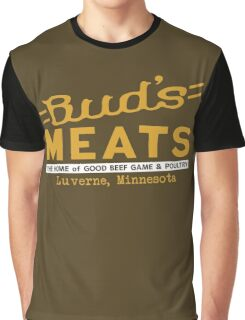 BUD'S MEATS - The Home of Good Beef, Game & Poultry (FARGO) Graphic T-Shirt