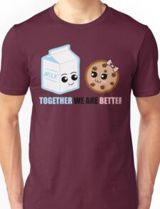 Milk and Cookie Love Unisex T-Shirt