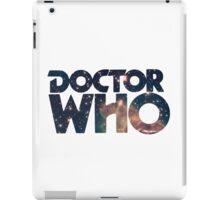 Doctor Who Merch iPad Case/Skin