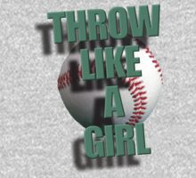 Throw Like A Girl Baby Tee