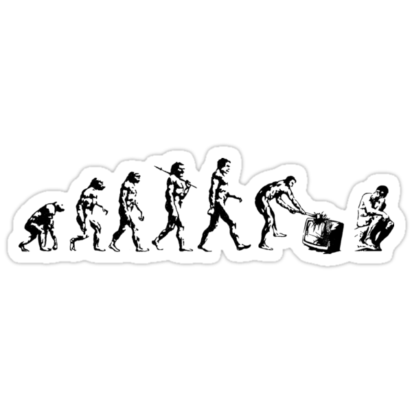 Evolution of The Thinker by Dylan DeLosAngeles
