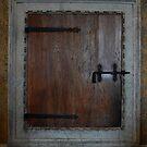A Hatch Door in Palazzo Ducale, Mantua, Italy by Igor Pozdnyakov