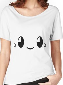 Happy cute face Women's Relaxed Fit T-Shirt