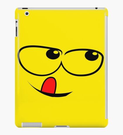 Yellow Sly face iPad Case/Skin