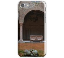 Courtyard of Palazzo Ducale, Mantua, Italy iPhone Case/Skin