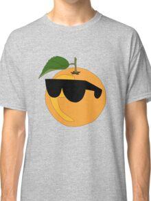 Orange Wearing Shades  Classic T-Shirt