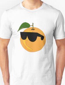 Orange Wearing Shades  Unisex T-Shirt