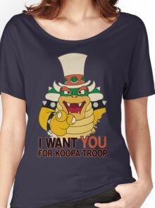 Recruiting for Koopa Troop Women's Relaxed Fit T-Shirt