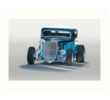 1934 Ford 'Three Window' Coupe II Art Print