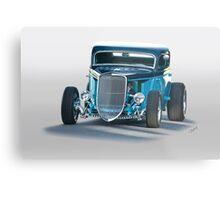 1934 Ford 'Three Window' Coupe II Metal Print