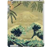 The Great Blue Embrace at Yama iPad Case/Skin