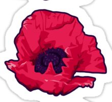 Poppies Sticker