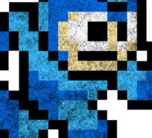 Mega Man - Sprite Badge 2 Sticker