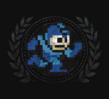 Mega Man - Sprite Badge 2 by garudoh
