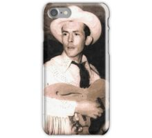 New Image Of Hank Williams Sr. iPhone Case/Skin