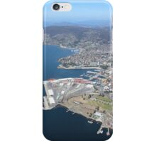 Hobart docks/city ....  Sandy Bay marina ....   iPhone Case/Skin