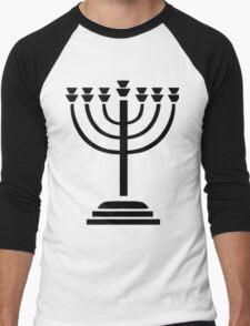 Menorah Men's Baseball ¾ T-Shirt