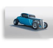1934 Ford 'Three Window' Coupe I Metal Print