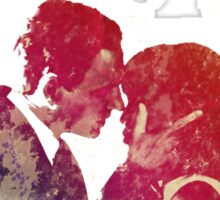 Scandal - Fitz & Olivia - no background *notebooks and journals added* Sticker