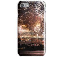 Fireworks ring in 2016 in Sydney iPhone Case/Skin