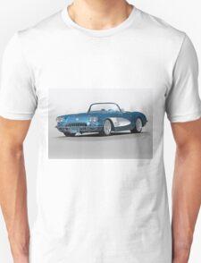 1959 Corvette Convertible Unisex T-Shirt