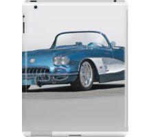 1959 Corvette Convertible iPad Case/Skin