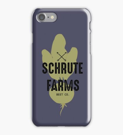 Schrute Farms Beet Co.- The Office iPhone Case/Skin