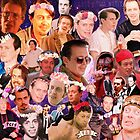 Steve Buscemi Galaxy Collage by MousMuse