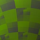 Green Squares Pattern Design by Garret Bohl