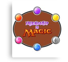 MLP: Friendship is Magic: The Gathering Canvas Print
