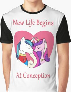 New Life Begins Graphic T-Shirt