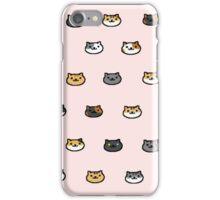 Neko Atsume Kitty Collector Cat Faces iPhone Case/Skin