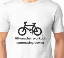 All-weather bicycle Unisex T-Shirt