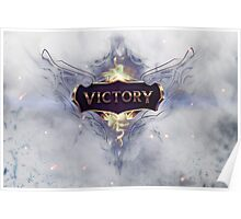 League of Legends, Champion Ship Series, Europe, Lol, Champions, Tshirt, LCS, Worlds, Riot, Rengar, Skin, op, Victory. Poster