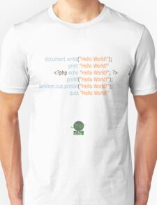 Hello World in Multiple Languages (Light) T-Shirt