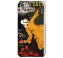 Vintage poster - Vitctoria Arduino iPhone Case/Skin