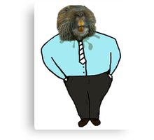 Business Gopher  Canvas Print