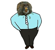Business Gopher  Photographic Print