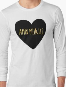 "Amin Mela Lle: ""I Love You"" in Elvish Long Sleeve T-Shirt"